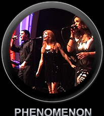 Iris Gillon IGMC Presents PHENOMENON Band Corporate events wedding